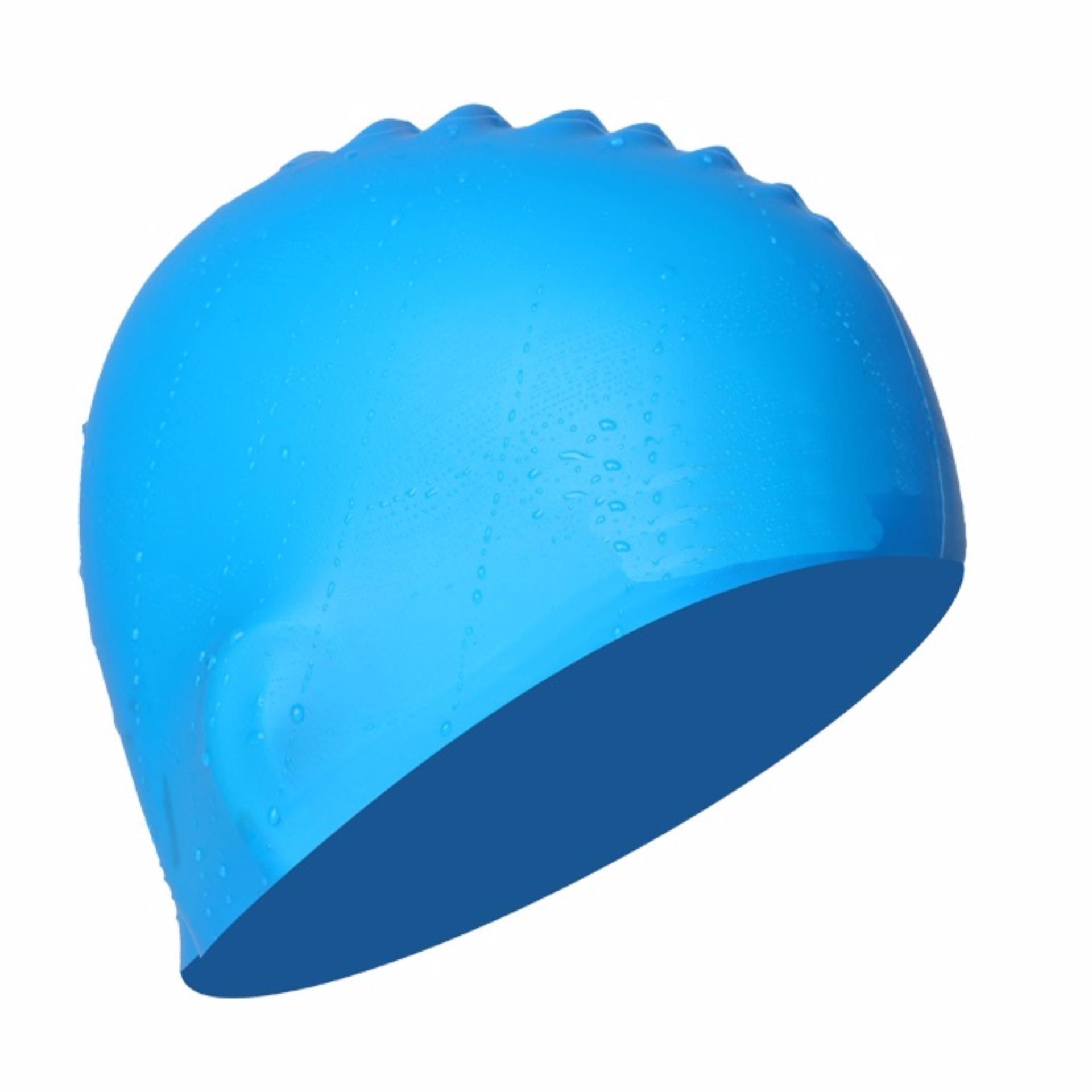 Nón bơi mũ bơi trơn silicone chống thống nước cao cấp CA31 POPO Collection - 7