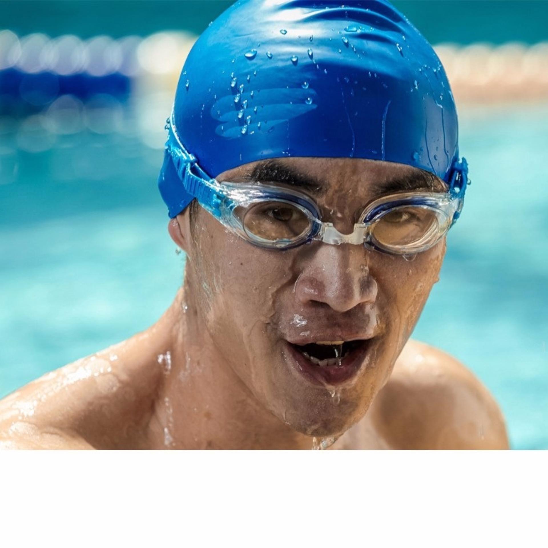 Nón bơi mũ bơi trơn silicone chống thống nước cao cấp CA31 POPO Collection 10