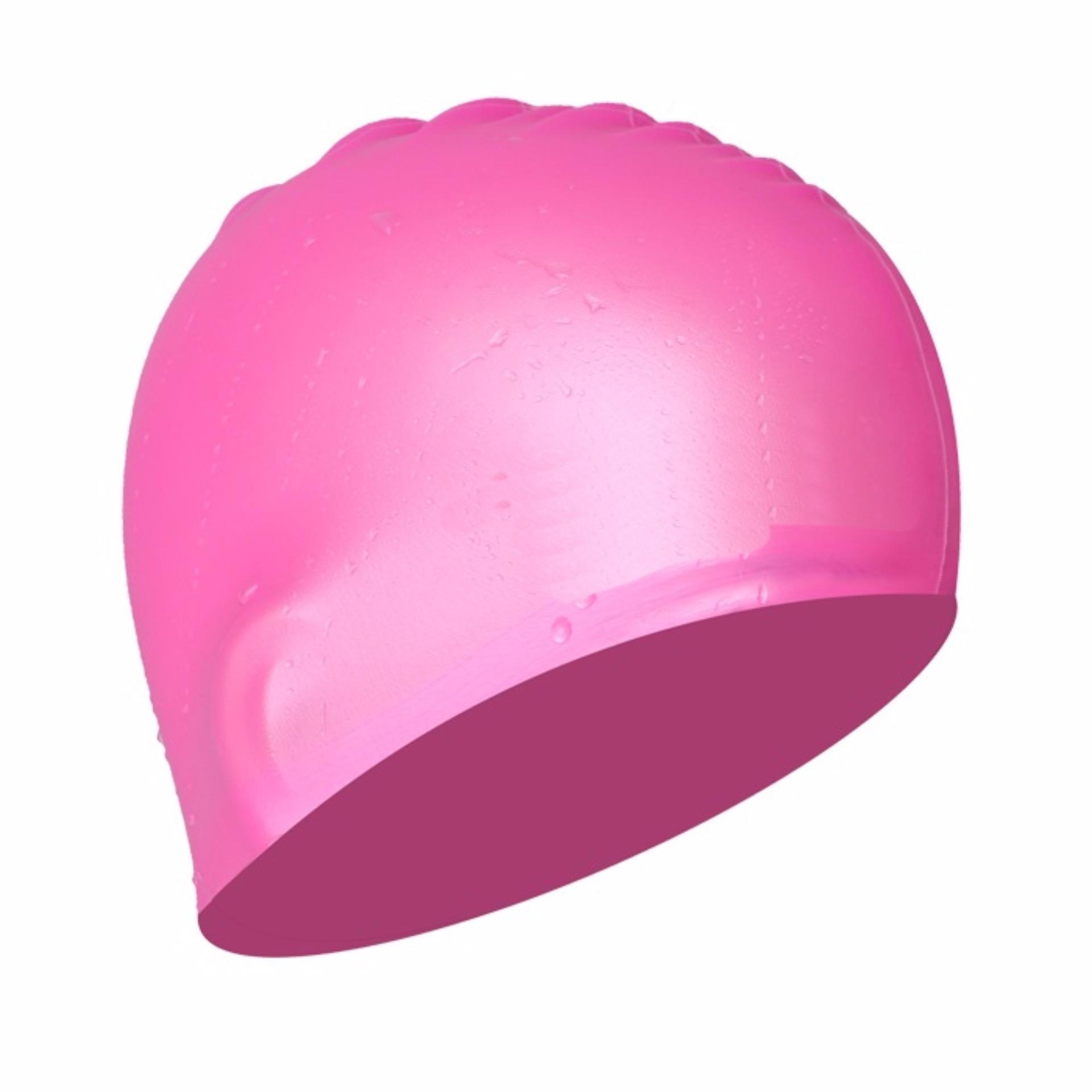 Nón bơi mũ bơi trơn silicone chống thống nước cao cấp CA31 POPO Collection - 1