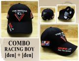 Giá Bán Non Thể Thao Combo 2 Non Racing Boy 27 Design Thời Trang K T Đen Trực Tuyến