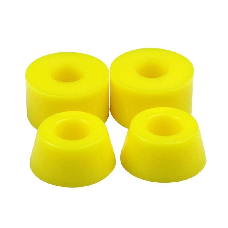 Giá bán nonof PU Skateboard Custom Bushings Bearings Shock Absorber (Yellow) - intl