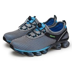 Giá Bán Outdoor Men Mesh Breathable Running Shoes Grey Intl Tốt Nhất
