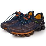 Bán Outdoor Men Mesh Breathable Running Shoes Navy Intl