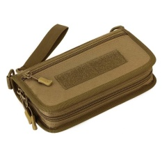 Hình ảnh Outdoor Sport Tactical Pouch Military Wallet Hand Bag Pack Mini Travel Camping Hiking Passport Card Purses Bags - 1 - intl
