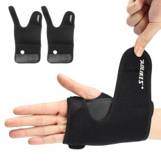 Panda Online AOLIKES Wrist Sprains Support Hand Brace Carpal Tunnel Steel Splint-Arthritis(Left) - intl