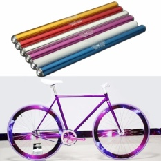 Panda Online Track Fixie Fixed Gear Bike Bicycle Cycling Handle Bar Straight Handlebar 25.4mm(Purple) - intl