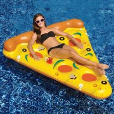 Bán Phao Bơi Pizza Khổng Lồ Kich Thước 180X130 Thiết Kế Gấp Gọn Họa Tiết Độc Đao An Toan Nhỏ Gọn Dd Trực Tuyến Hà Nội