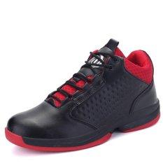 Giá Bán Pinsv Men S Sport Shoes Basketball Shoes Black Intl Pinsv