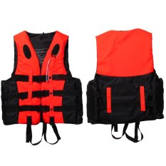 Bán Polyester Adult Life Jacket Universal Swimming Boating(Orange XXL)