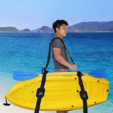 Hình ảnh Portable Kayak Canoe SUP Surfboard Adjustable Nylon Carrying Strap Belt with Paddle Loop - intl