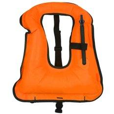 Hình ảnh Di động Unisex Trưởng Thành Bơm Hơi Áo Lặn Bơi Cuộc Sống An Toàn Áo Phù Hợp Với Thiết Bị Nước Hoạt Động Lặn Lướt Sóng Chèo Thuyền Chèo Thuyền Kayak Cam -quốc tế
