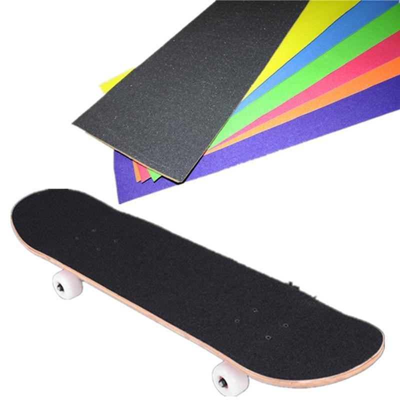 Mua Pro Skateboard Deck Sandpaper Grip Tape Skating Board Longboarding-Black