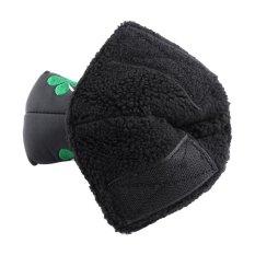 PU Gậy Golf Putter Bao Cỏ Bốn Lá Headcover Phụ Kiện Cho Golf Hoạt Động (màu đen)-quốc tế