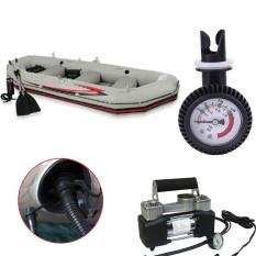 Hình ảnh Pump Gas Pressure Test Gauge Meter For Inflatable Boat Kayak Surfboard - intl