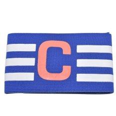 Hình ảnh Pure Colour Football Team Captain Armband Symbol Sports Leader Fans Parts Blue - intl