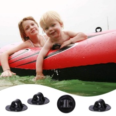 Hình ảnh Cao Su PVC Thuyền Kayak Động Cơ Đế Đứng Đen Khóa Một Phần Phụ Kiện-intl