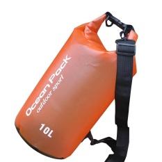 Hình ảnh NHỰA PVC Chống Thấm Nước Khô Túi Thể Thao Ngoài Trời Bơi Đi Bè Chèo Thuyền Kayak Thuyền Buồm-intl
