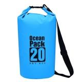Bán Mua Nhựa Pvc Chống Thấm Nước Đựng Đồ Kho Bao Tui Tui Bai Biển Ngoai Trời Lưu Trữ Xanh Dương 20L Quốc Tế