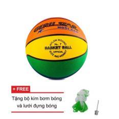 Hình ảnh quả bóng rổ cao su gerustar 8 màu