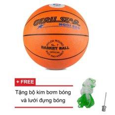 Hình ảnh Quả bóng rổ Gerustar số 7 (Cam)