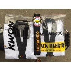 Hình ảnh Quần áo võ phục Taekwondo KWON Fighter cổ đen