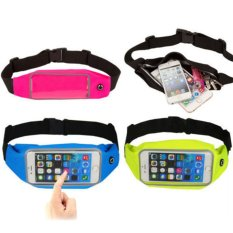 Giá Bán Rainproof Sweat Proof Sports Zip Waist Belt Bag Case For Iphone 5S Iphone 6S Green Intl Trong Vietnam