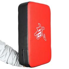 Hình ảnh Hình chữ nhật Quyền Anh Đá Đánh Đấm Miếng Lót Thiết Bị Tập (Màu Đỏ Và Màu Đen)-quốc tế