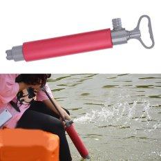 Hình ảnh Đỏ 46 cm Thuyền Kayak Bơm Tay Nổi Tay Bilge Pump cho Thuyền Kayak Cứu Hộ-quốc tế