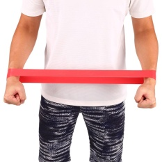 Hình ảnh Resistance Yoga Band Elastic Exercise Rubber Leg Muscle Fitness Home Gym Bands - intl