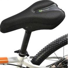 Hình ảnh RockBros Cycling Bicycle Bike Sponge Pad Seat Saddle Cover Soft Cushion Comfort Black - intl