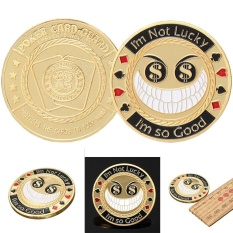 Hình ảnh SCIOLTO SPORTS Poker Card Craft Chips Game Supplies Commemorative Coin Children Adults Gifts - intl