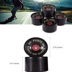 Hình ảnh Skateboaring Wheels Longboard Outdoor Sports High Elasticity Durable Flexible - intl