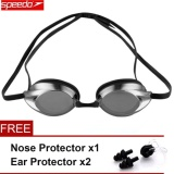 Mua Speedo Waterproof Anti Fog Eye Swimming Goggles Swim Glasses Pc Lens Silicone Strap Intl Trực Tuyến Rẻ
