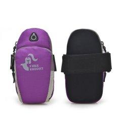 Sports Running Jogging Gym Armband Bag Case Cover Holder(purple) - intl