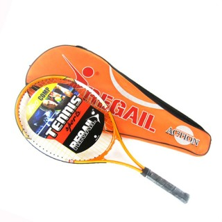 Sports Tennis Racket Aluminum Alloy Adult Racquet with Racquet Bag for Beginners Tennis Training Racket, Orange - intl thumbnail