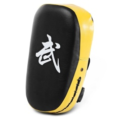 Hình ảnh Vuông Hộp Miếng Lót Đấm Túi Karate Sparring Muay Thái TKD Huấn Luyện Chân Mục Tiêu Gear (Màu Vàng)-quốc tế