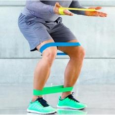 Justgogo Strength Training Yoga Exercise Fitness Resistance Bands(Green) - Intl Ưu Đãi Bất Ngờ