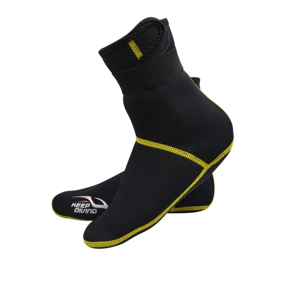 Tất lặn biển 3mm giữ ấm, chống trơn trượt cao cấp + Quà Tặng của Shop LEPIN