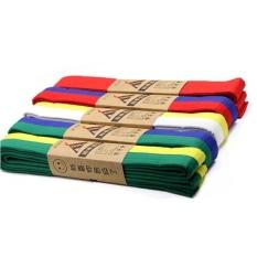 Hình ảnh TB Taekwondo belt-yellow and green*1.8m - intl