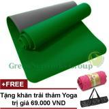 Ôn Tập Thảm Tập Gym Va Yoga Tpe 8Mm 2 Lớp Cao Cấp None Trong Hồ Chí Minh