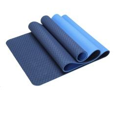 Cửa Hàng Bán Thảm Tập Mi Shop Yoga 2 Lớp Tpe Xanh Đậm