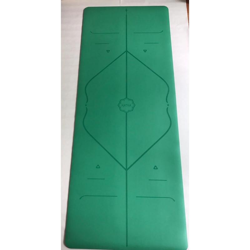 Thảm tập yoga cao cấp Hatha định tuyến (Mới) Tặng kèm túi chuyên dụng