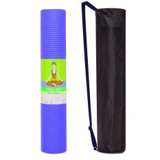 Thảm Tập Yoga Kem Tui Đựng Ribobi 6Mm Xanh Nhạt Ribobi Chiết Khấu 40