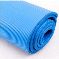 Bảng giá Thảm tập Yoga siêu bền loại 1 dày 10mm TPE Xanh (Free day buộc thảm)