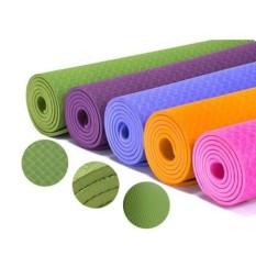 Hình ảnh Thảm tập Yoga TPE 2 lớp cao cấp loại dày( nhiều màu)