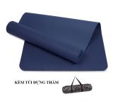 Giá Bán Thảm Tập Yoga Tpe 6Mm 1 Lớp Cao Cấp Xanh Navy Zeno Zeno Nguyên