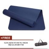 Giá Bán Thảm Tập Yoga Zera Tpe 1 Lớp 8Mm Xanh Coban Nguyên