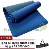 Chiết Khấu Thảm Tập Yoga Tpe Cao Cấp Zera Gng 6Mm 2 Lớp Tặng Tui Đựng Thảm Có Thương Hiệu