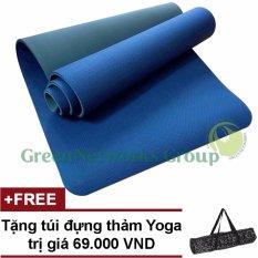Mua Thảm Tập Yoga Tpe Cao Cấp Zera Gng 6Mm 2 Lớp Tặng Tui Đựng Thảm Rẻ