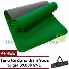 Thảm Tập Yoga TPE Cao Cấp Zera GnG 8mm 2 Lớp + Tặng Túi đựng Thảm Giá Tiết Kiệm Nhất Thị Trường